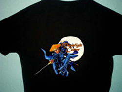 Back of Moonlight Cutter T-Shirt